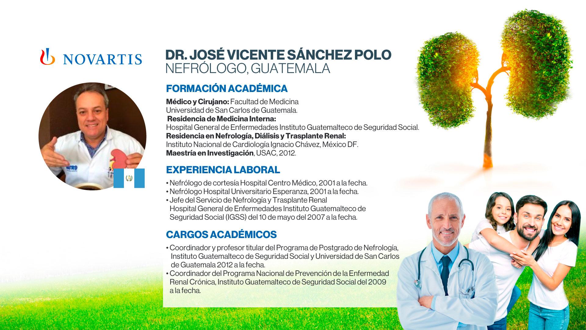 Dr. José Vicente Sánchez Polo.