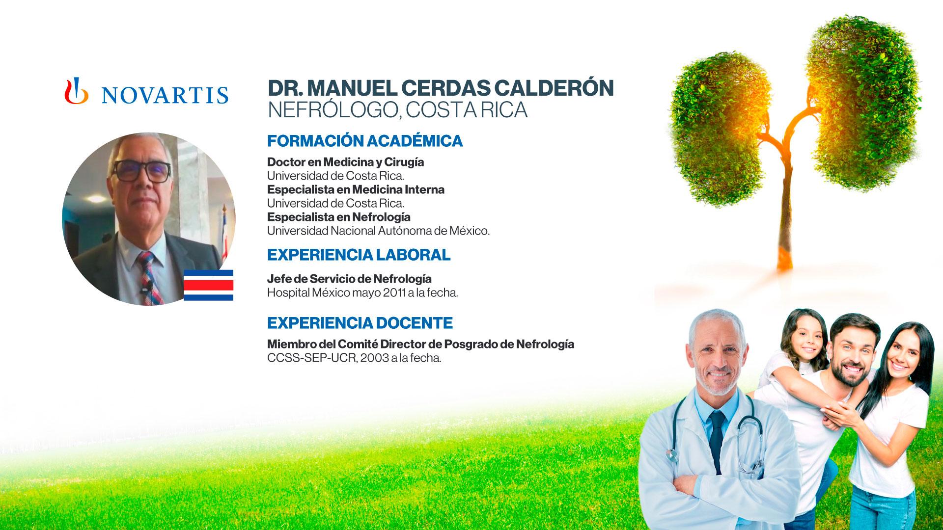 Dr. Manuel Cerdas Calderón